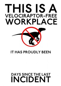 velociraptor free workplace