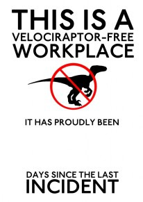 velociraptor free workplace
